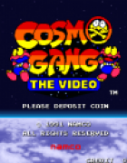 Cosmo Gang: The Video (Arcade)