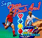 Sega Game Pack 4in1