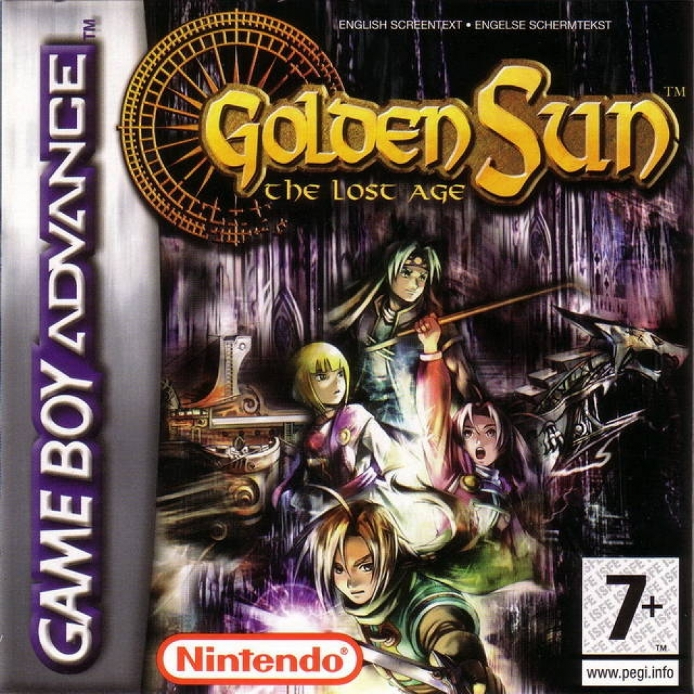 golden sun game list