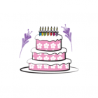 Birthday Cake Set stickers