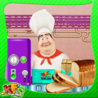 Bread Factory  Girls Cooking Game