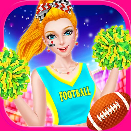 Nail Salon Game Beauty Makeover: Cheerleader Beauty Salon