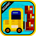 Color Vehicles Jigsaw Puzzle Games