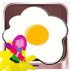 Coloring Book Drawing Egg  for kids games