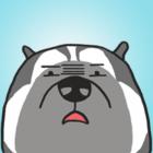 Funny Husky Stickers