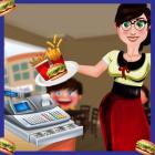 High School Food Cafe Cashier