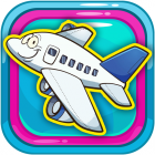 Kids Coloring Page Picture Book Airplanes