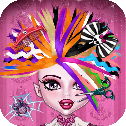 monster high hair styling games