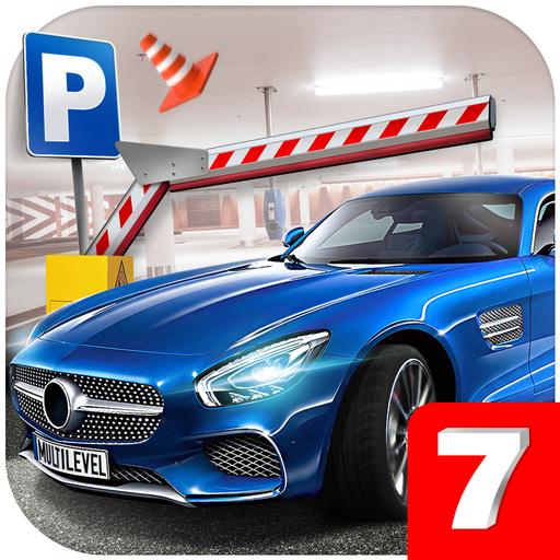 Multi level 7 car parking garage park training lot wiki for Garage auto 7