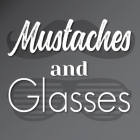Mustaches and Glasses Stickers
