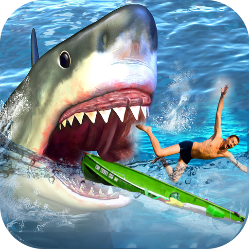 Real fishing adventure super shark attack game s wiki for Shark fishing games