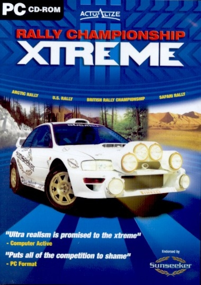 Xpand Rally Xtreme Free PC Video Game Demo Download